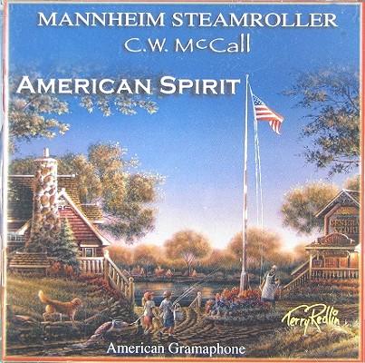 AMERICAN SPIRIT BY MANNHEIM STEAMROLLER (CD)